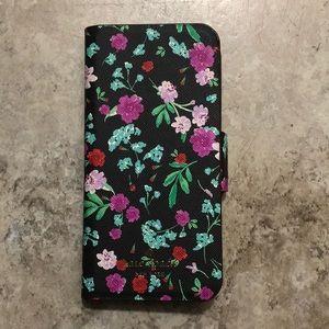kate spade iphone 7/8 wallet case